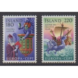 Islande - 1981 - No 518/519 - Folklore - Europa