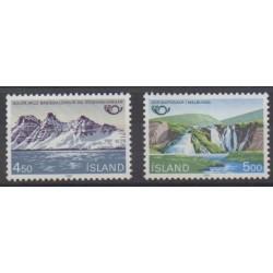 Islande - 1983 - No 549/550 - Sites