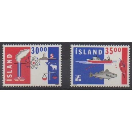 Iceland - 1992 - Nb 719/720