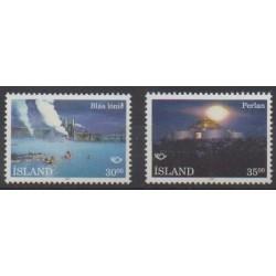 Iceland - 1993 - Nb 737/738 - Tourism