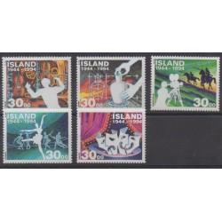 Iceland - 1994 - Nb 755/759