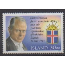 Islande - 1994 - No 764 - Célébrités