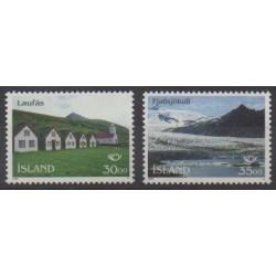 Islande - 1995 - No 779/780 - Tourisme