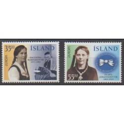Islande - 1996 - No 797/798 - Célébrités - Europa
