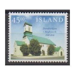 Islande - 1996 - No 812 - Églises