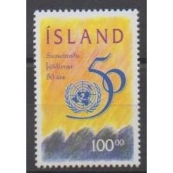 Islande - 1995 - No 786 - Nations unies