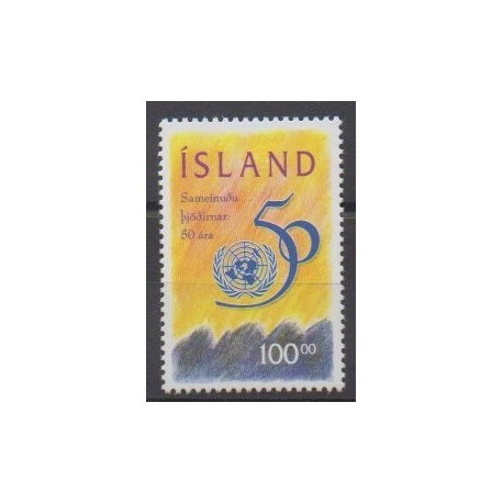 Iceland - 1995 - Nb 786 - United Nations