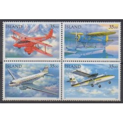 Iceland - 1997 - Nb 817/820 - Planes