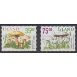 Iceland - 1999 - Nb 868/869 - Mushrooms