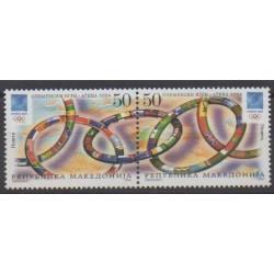 Macédoine - 2004 - No 315/316 - Jeux Olympiques d'été