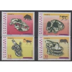 Macédoine - 1998 - No 138/141 - Sciences et Techniques