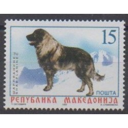 Macedonia - 1999 - Nb 151 - Dogs