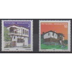 Macedonia - 1998 - Nb 136/137 - Architecture