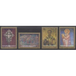 Macedonia - 2000 - Nb 182/185 - Art - Religion