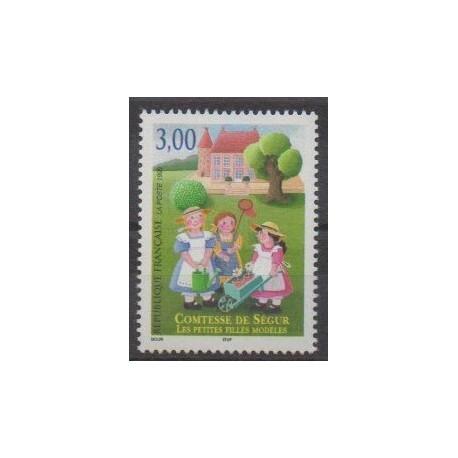 France - Poste - 1999 - No 3253 - Littérature