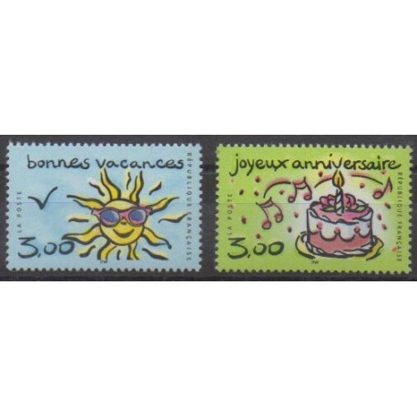France - Poste - 1999 - No 3241/3242