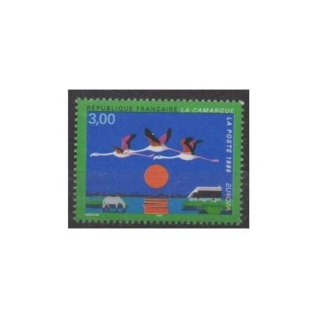 France - Poste - 1999 - No 3240 - Parcs et jardins - Europa