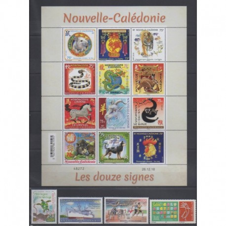New Caledonia - 2019 - Nb 1352/1382