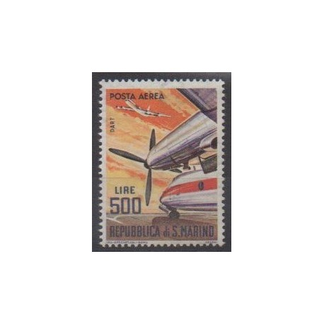 San Marino - 1963 - Nb PA137 - Planes