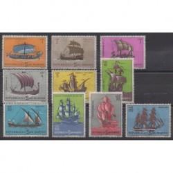 Saint-Marin - 1962 - No 573/582 - Navigation