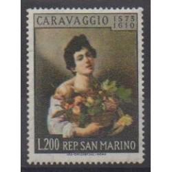 Saint-Marin - 1960 - No 505 - Peinture