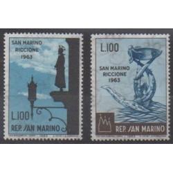 Saint-Marin - 1963 - No 597/598 - Philatélie