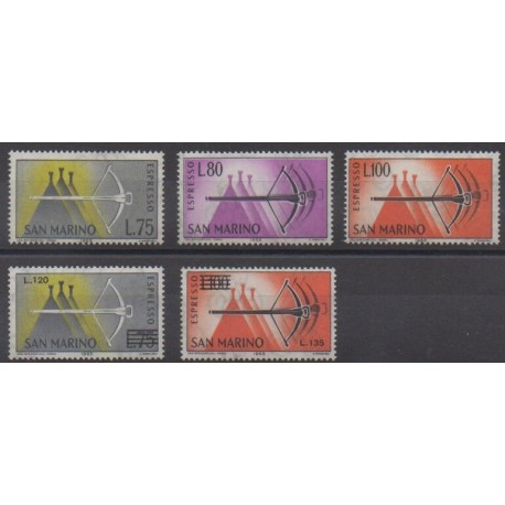 Saint-Marin - 1957 - No E25/E29