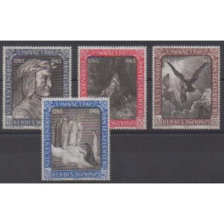 San Marino - 1965 - Nb 655/658 - Religion