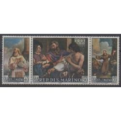 Saint-Marin - 1967 - No 694/696 - Religion