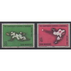 Saint-Marin - 1964 - No 637/638 - Sports divers