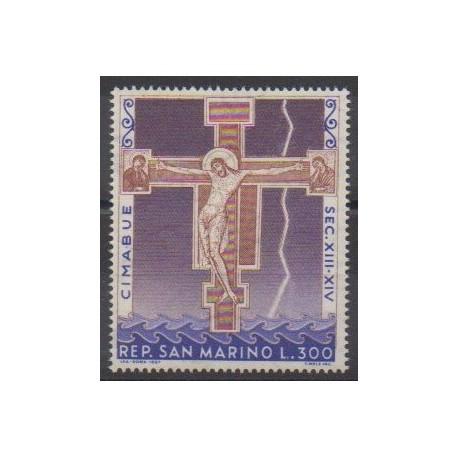San Marino - 1967 - Nb 709 - Easter