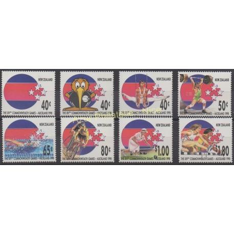 New Zealand - 1989 - Nb 1051/1058 - Sport