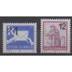 Yougoslavie (Serbie et Monténégro) - 2003 - No 2973/2974