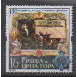 Yougoslavie (Serbie et Monténégro) - 2003 - No 2955 - Musique
