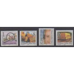 Yougoslavie (Serbie et Monténégro) - 2003 - No 2978/2981 - Service postal