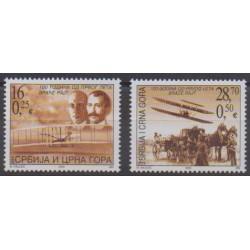 Yougoslavie (Serbie et Monténégro) - 2003 - No 3007/3008 - Aviation