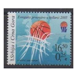 Yougoslavie (Serbie et Monténégro) - 2005 - No 3117 - Sports divers