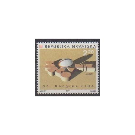 Croatie - 1997 - No 394 - Sports divers