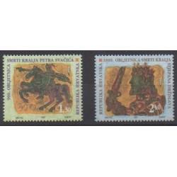 Croatie - 1997 - No 396/397 - Histoire