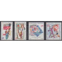 Croatie - 1997 - No 398/401 - Jeux Olympiques d'été