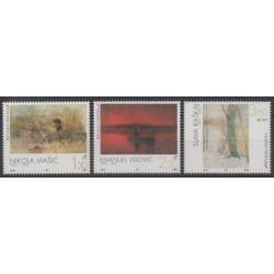 Croatie - 1997 - No 413/415 - Peinture