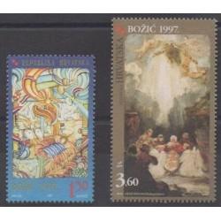 Croatie - 1997 - No 416/417 - Noël