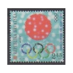 Croatie - 1998 - No 422 - Jeux olympiques d'hiver