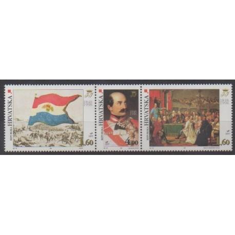 Croatia - 1998 - Nb 425/427 - Various Historics Themes
