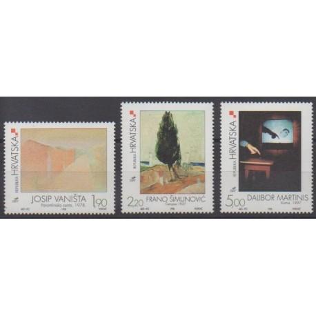 Croatia - 1998 - Nb 463/465 - Paintings