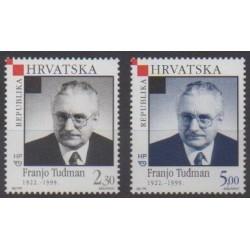 Croatie - 1999 - No 503/504 - Célébrités