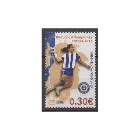 Monténégro - 2012 - No 310 - Sports divers