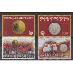 Montenegro - 2012 - Nb 319/320 - Various sports