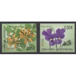 Montenegro - 2006 - Nb 124/125 - Flowers