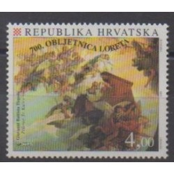 Croatia - 1994 - Nb 278 - Paintings - Religion